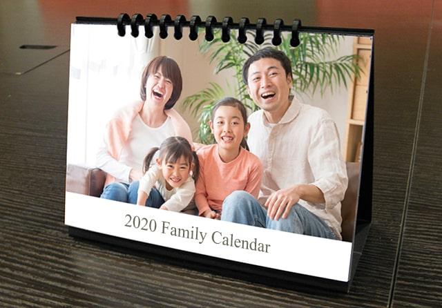 ファミリーカレンダー(リング)画像
