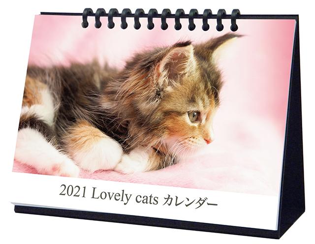 卓上カレンダー(子猫)画像